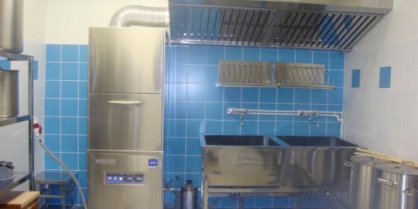 посудомоечный цех кухонный блок